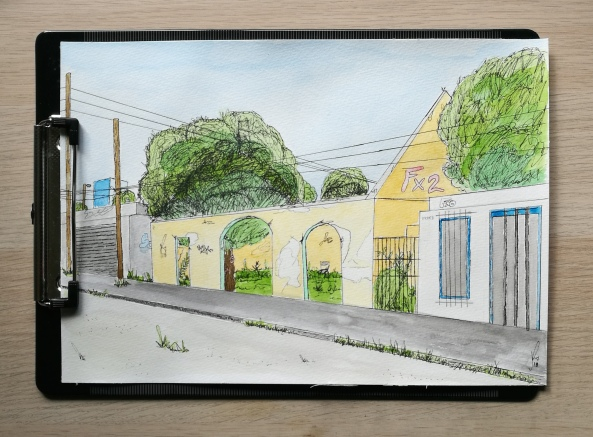Cozumel, Mexico Sketch