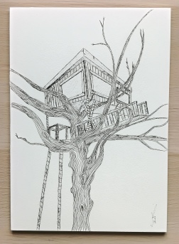 Tree hut from Vietnam