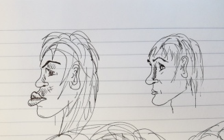 Sketching faces1