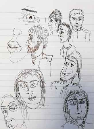 Sketching faces2