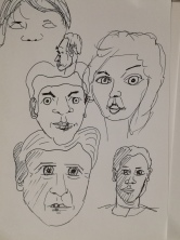 Sketching faces4