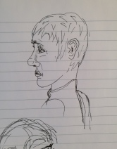 Sketching faces 1