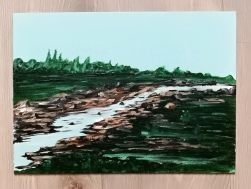 A river in green